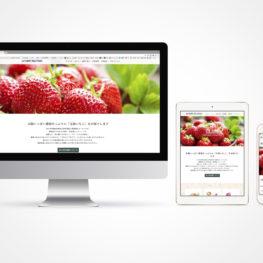星の果実園ホームページトップデザイン001